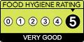 Dylan Jack's Catering, Burton - 5 Star Food Hygiene
