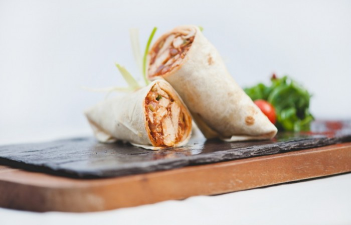 Dylan Jack's Catering, Burton - Med Chicken Wraps, Menu A